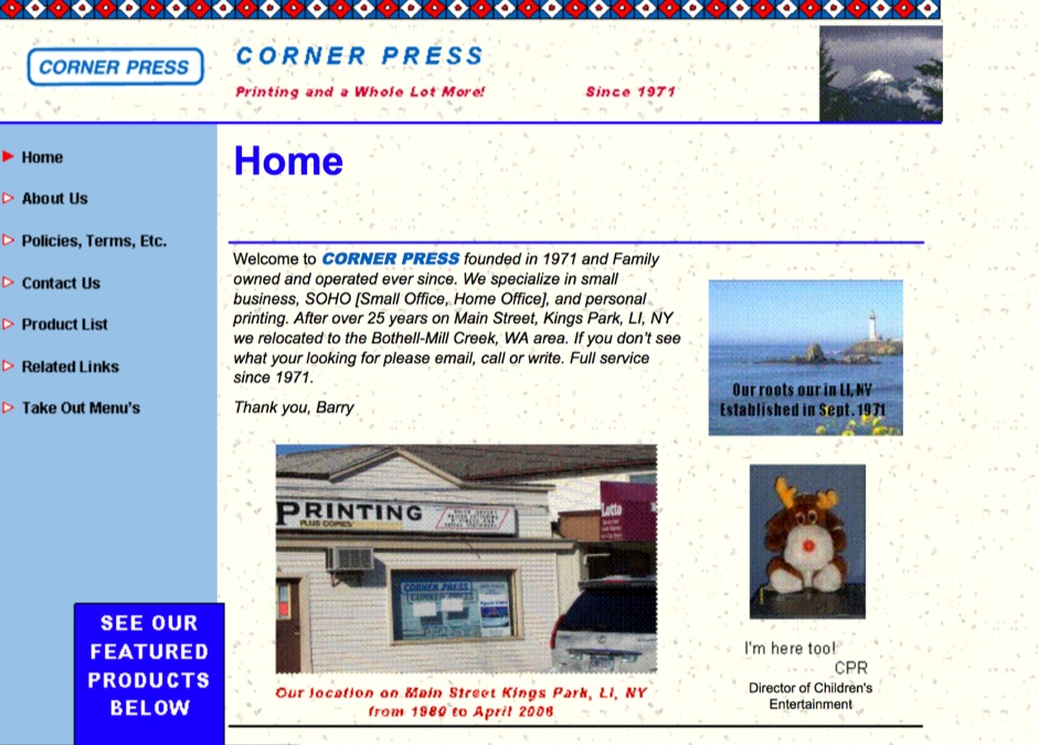 CornerPress