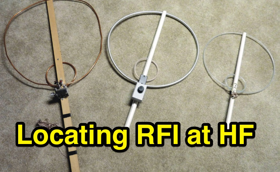 Locating RF Interference at HF