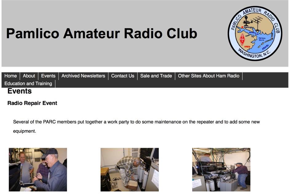 Pamlico Amateur Radio Club