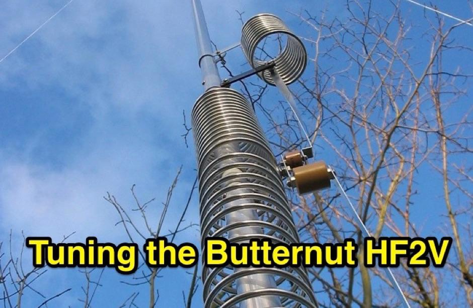 Tuning the Butternut HF2V
