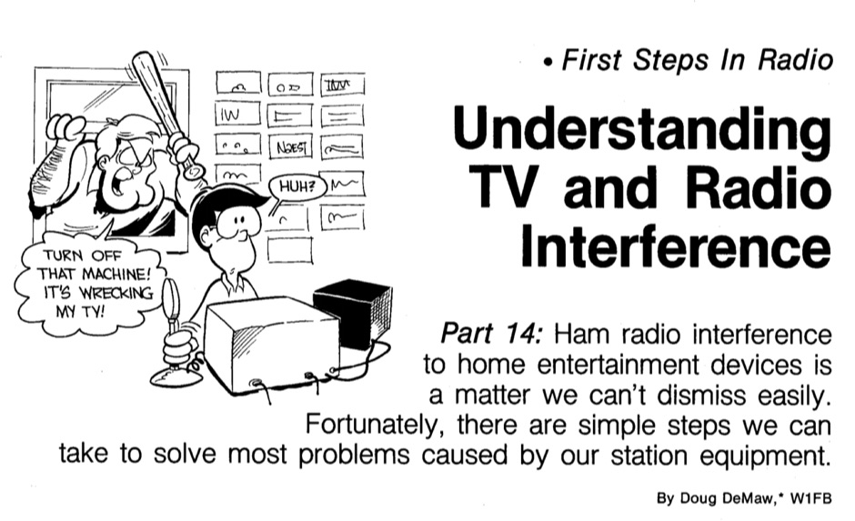DXZone Understanding TV and Radio Interference