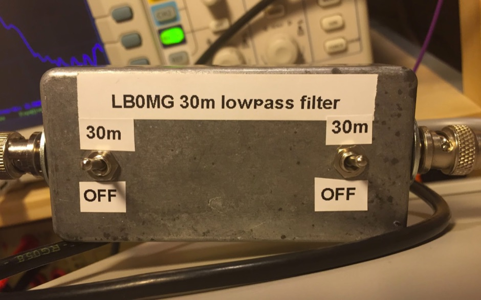 DXZone Lowpass filter for 30m