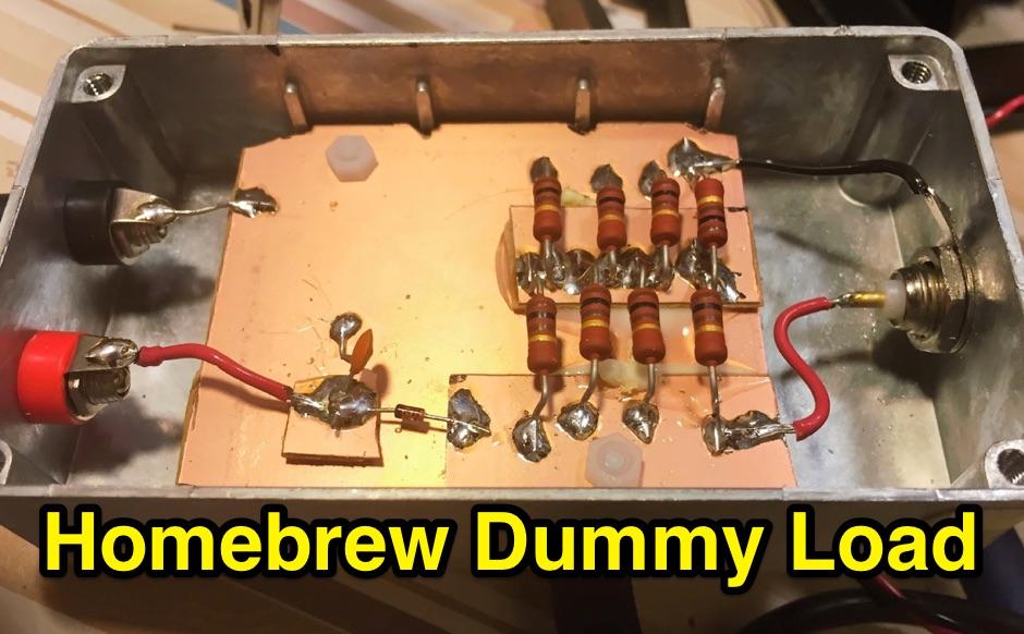 DXZone Homebrew dummy load