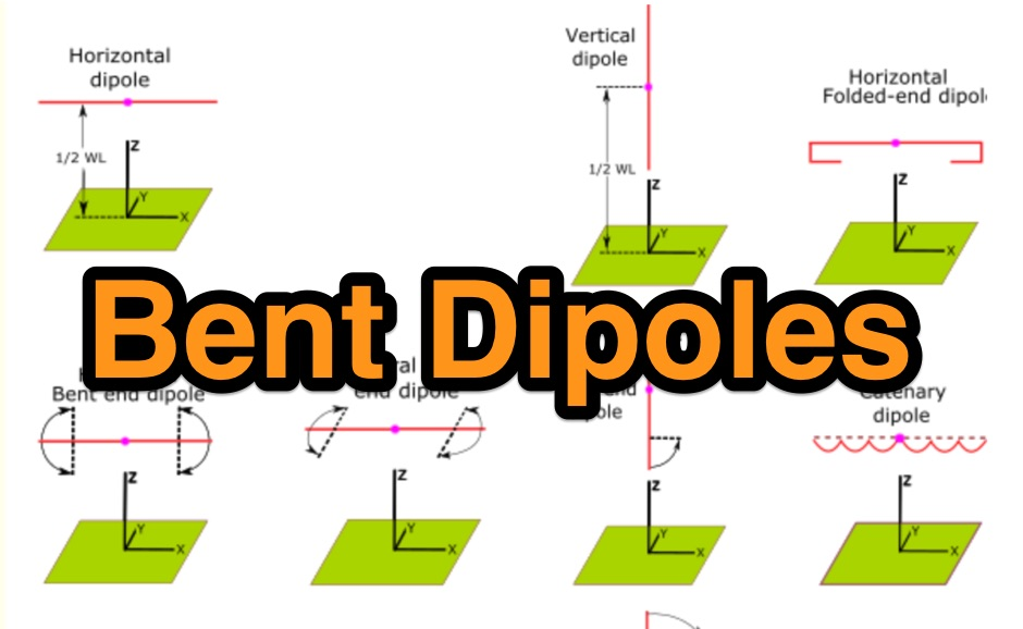 DXZone Bent Dipoles reference website