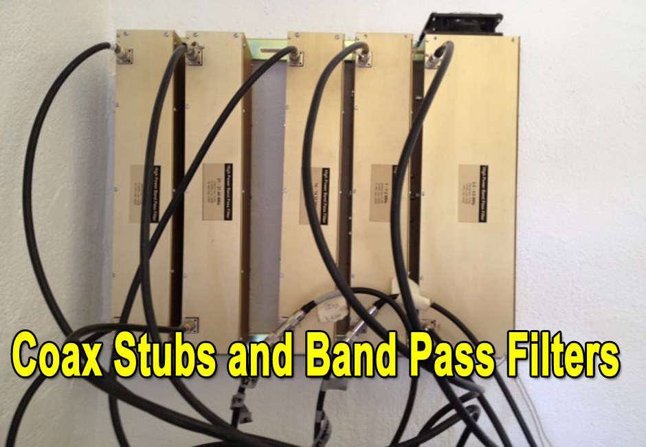Coax Stubs and Band Pass Filters