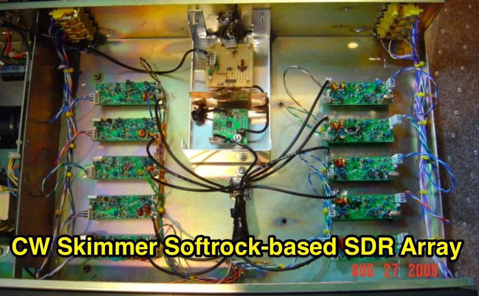 DXZone CW Skimmer Softrock-based SDR Array