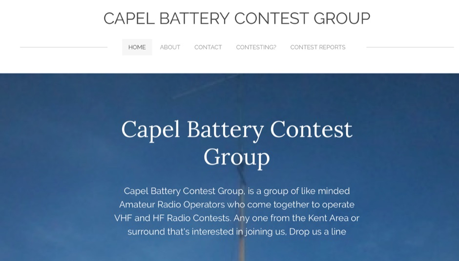 Capel Battery Contest Group