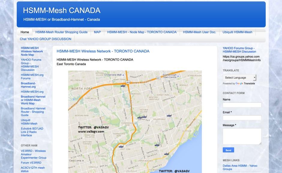 DXZone HSMM-Mesh Canada
