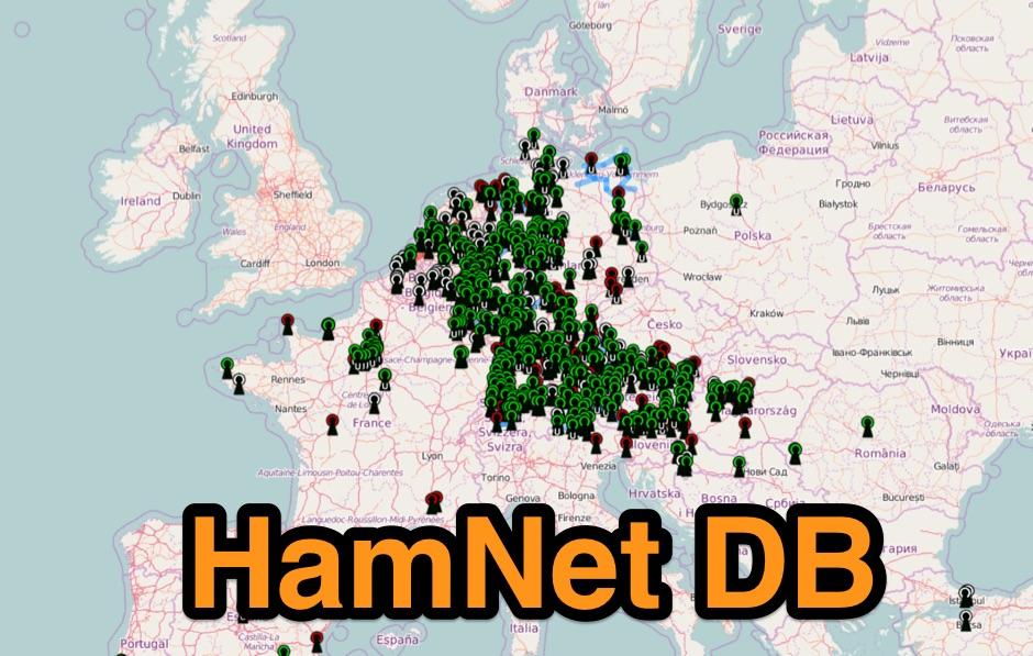 DXZone HamNet DB Map