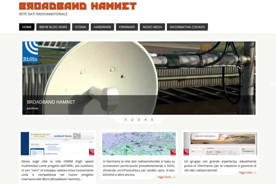 DXZone Boradband HamNet Italy