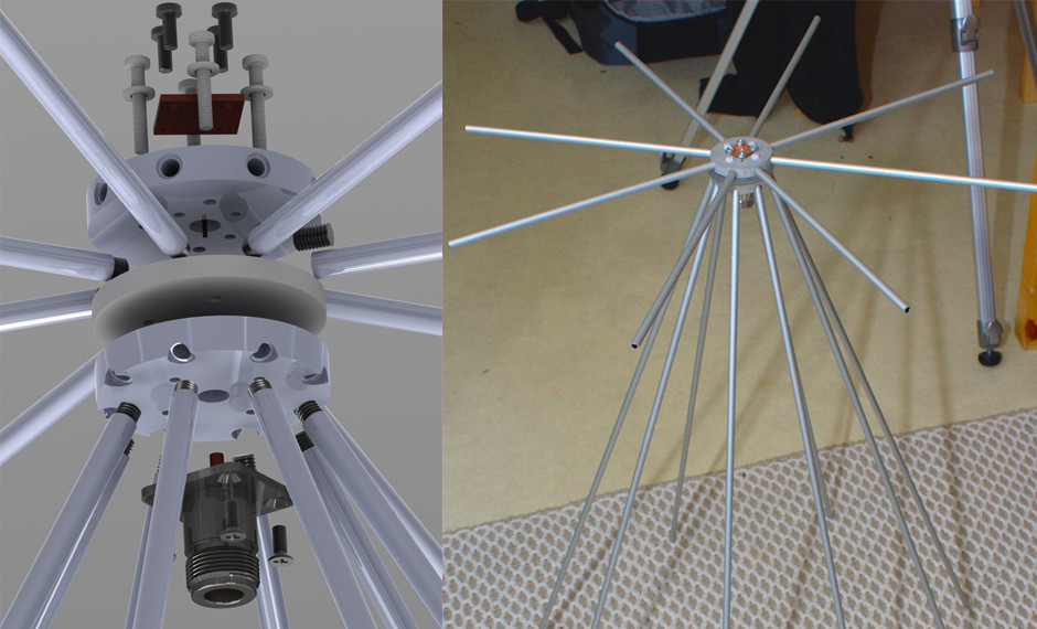 Discone Antenna for RTL SDR