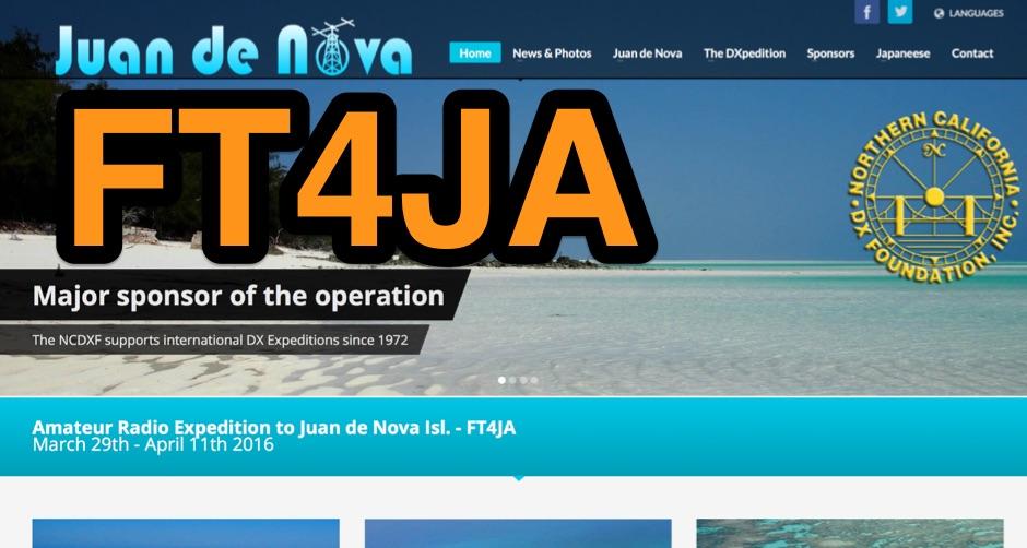 DXZone FT4JA Juan de Nova Isl
