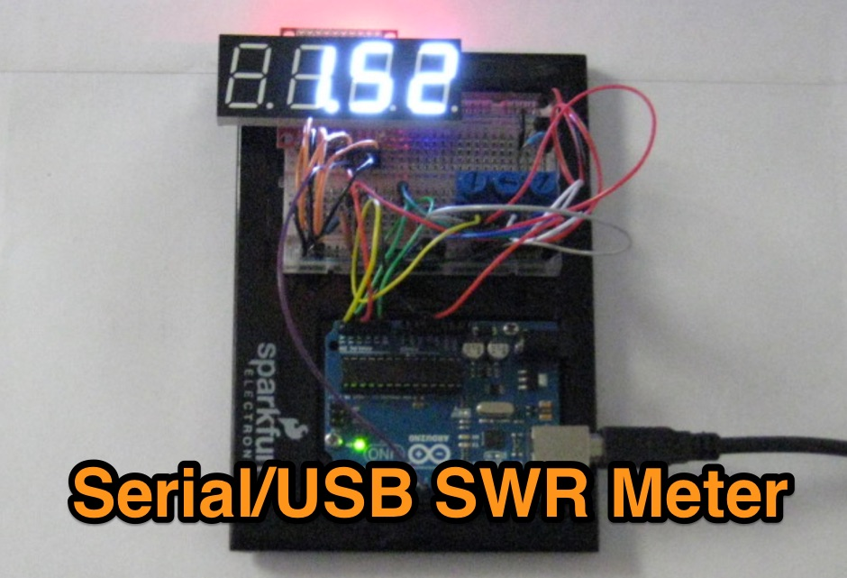Serial/USB SWR Meter