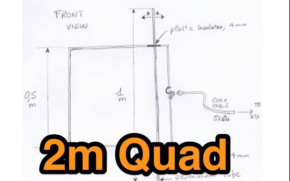 2m Quad Antenna