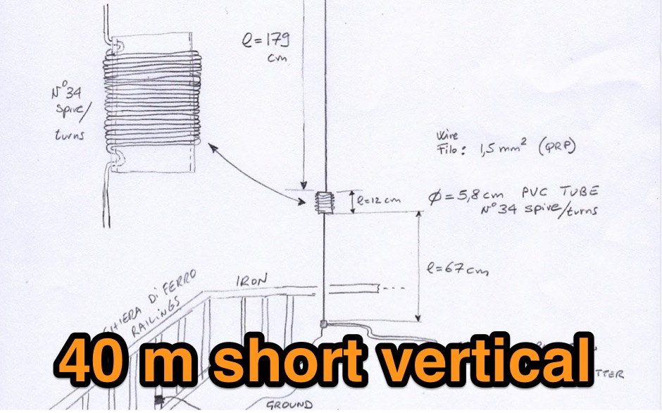 DXZone 40 m short vertical