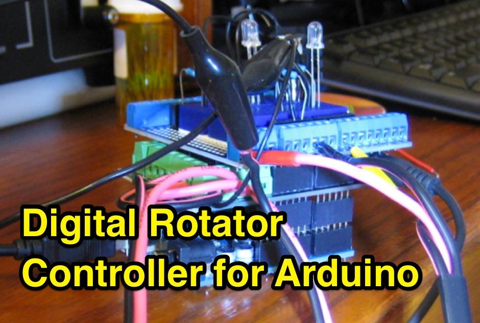 Digital Rotator Controller For Arduino - Resource Detail