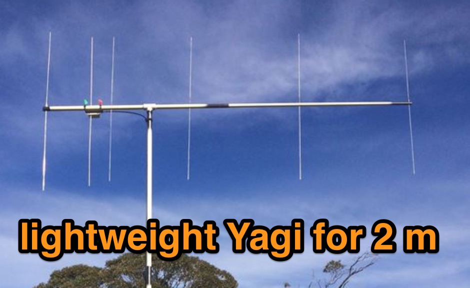 DXZone A lightweight Yagi for 2 m