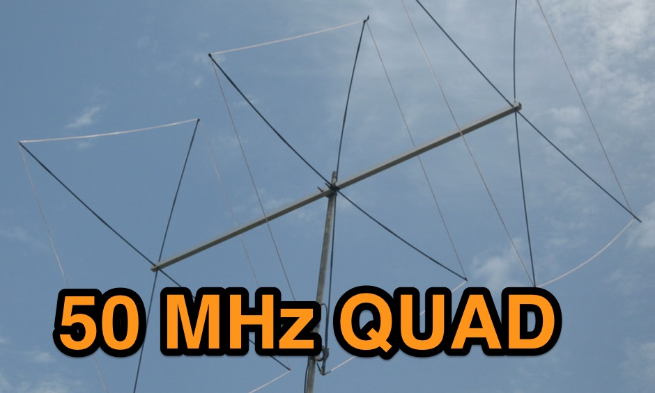 3el Quad for 6 Meters