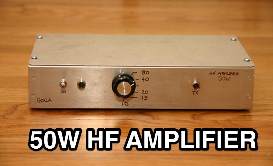 DXZone A simple 50W RF Power Amplifier
