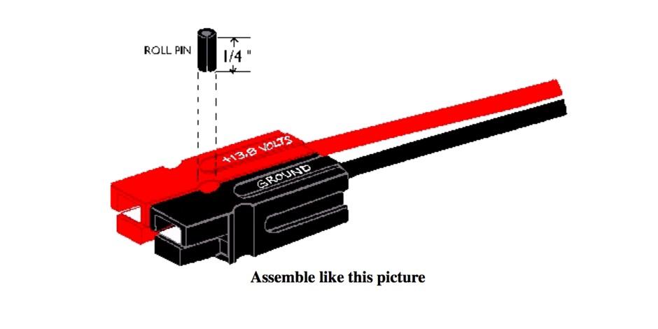 DXZone Powerpole Assembly