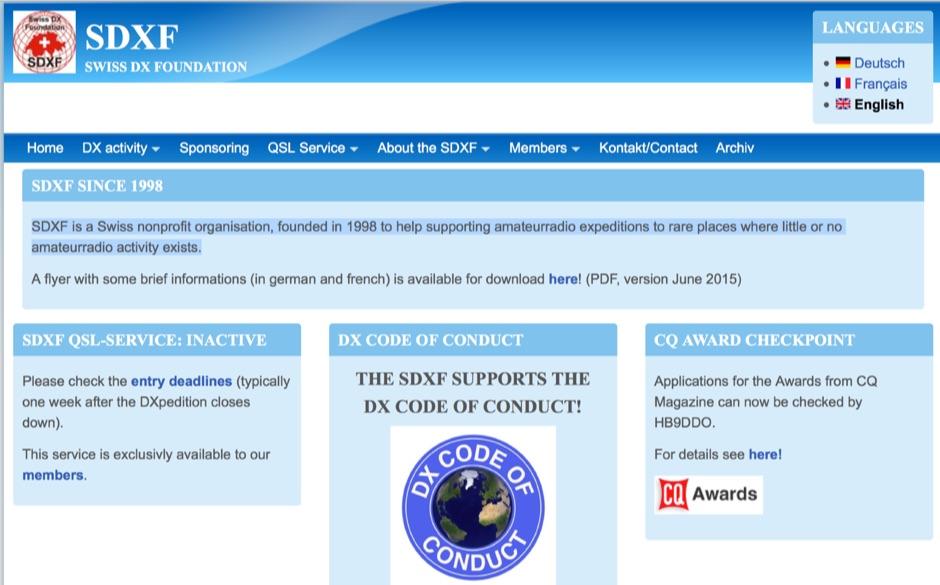 SDXF Swiss DX Foundation