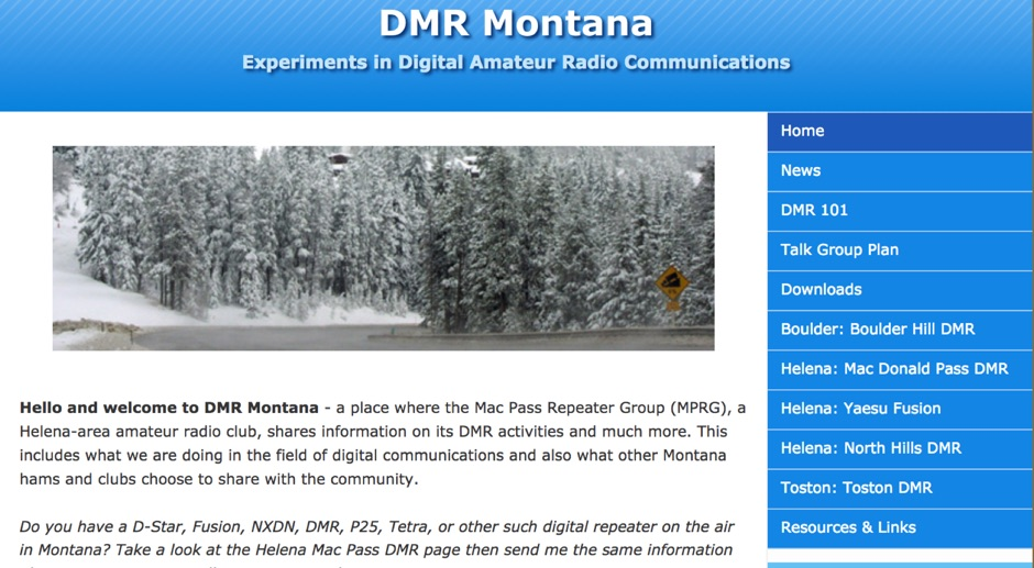 WR7HLN DMR Montana