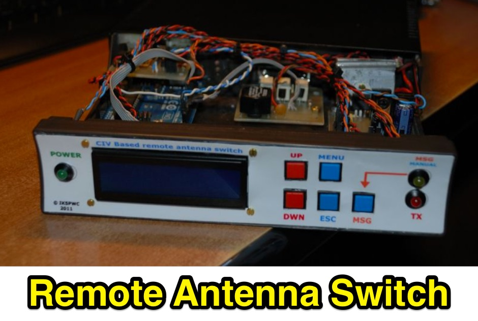 CI-V based remote antenna switch