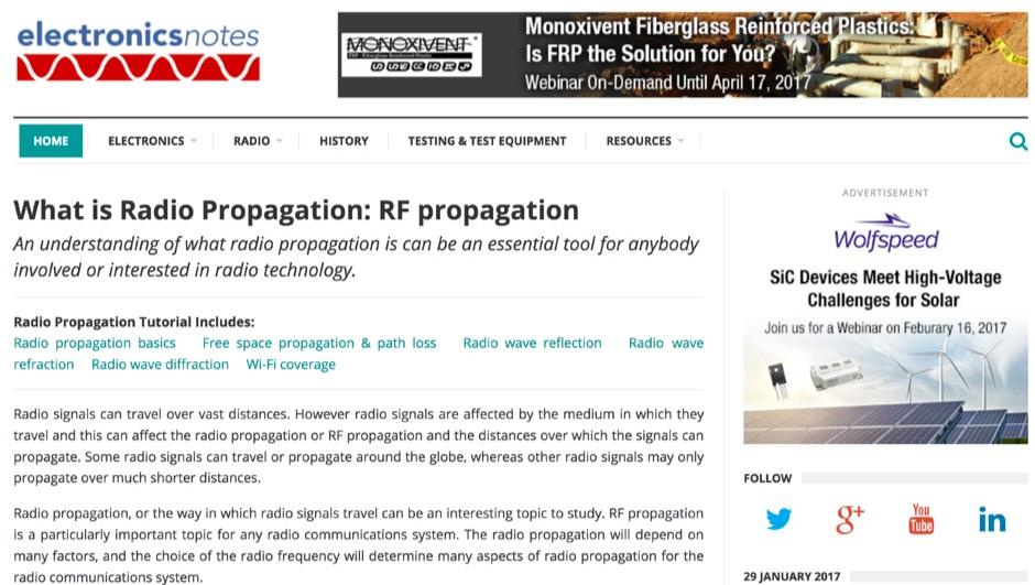 What is Radio Propagation - RF propagation