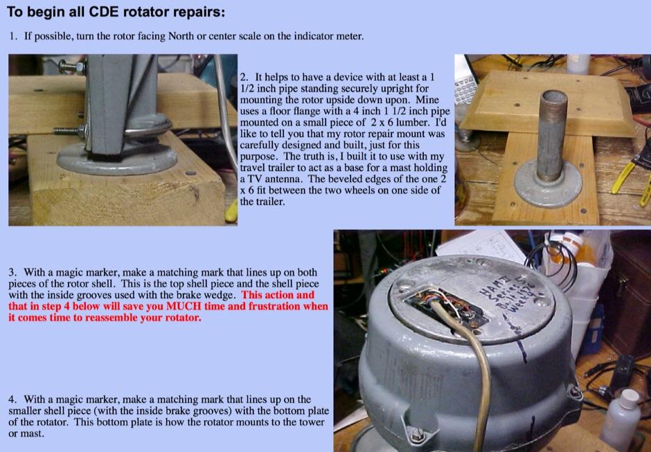 DXZone Repairing Rotators