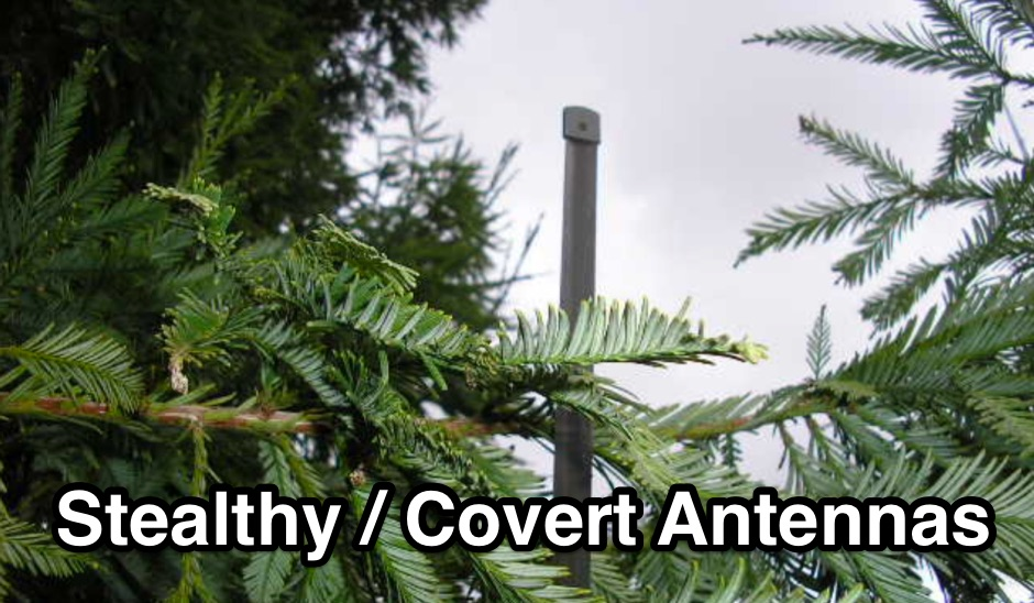 Stealthy / Covert Antennas