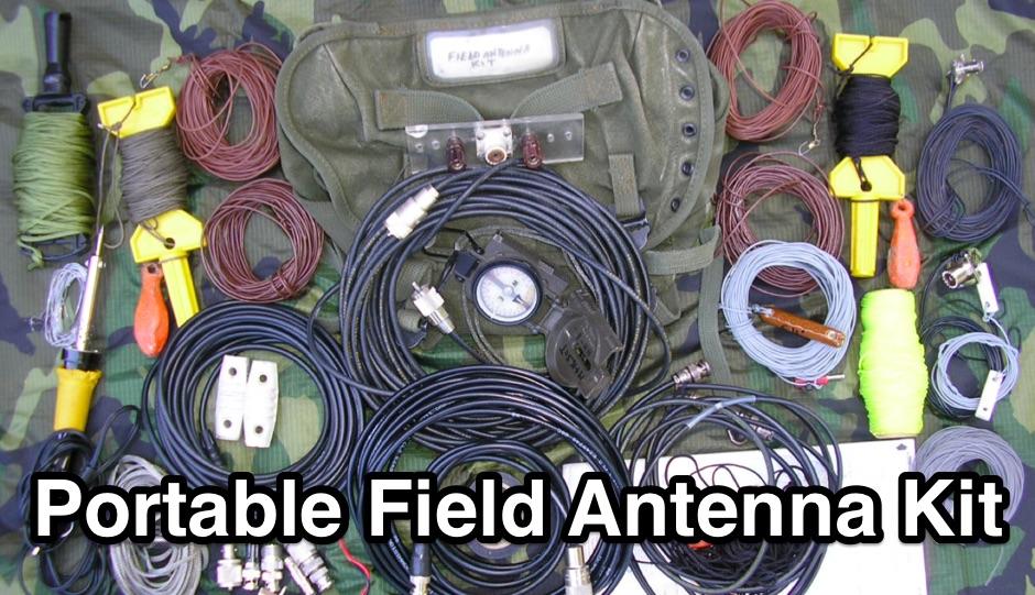 Portable Field Antenna Kit