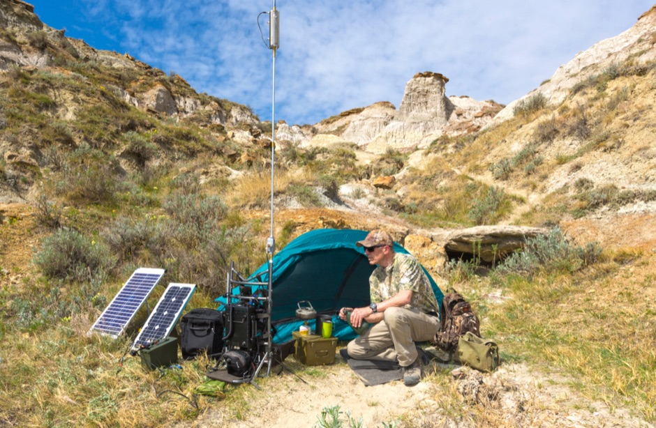 VE6AB HF Portable operations
