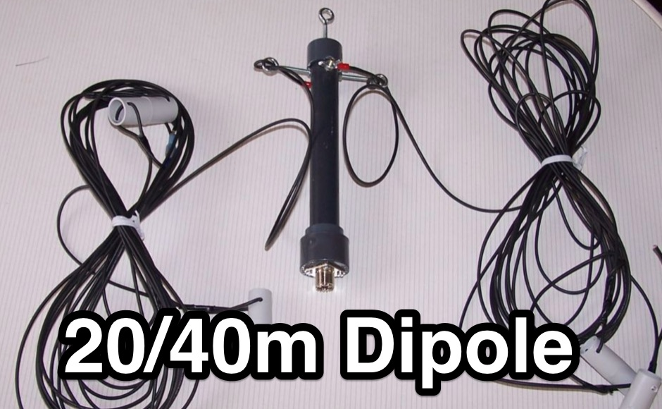 DXZone A simple 20-40 dipole