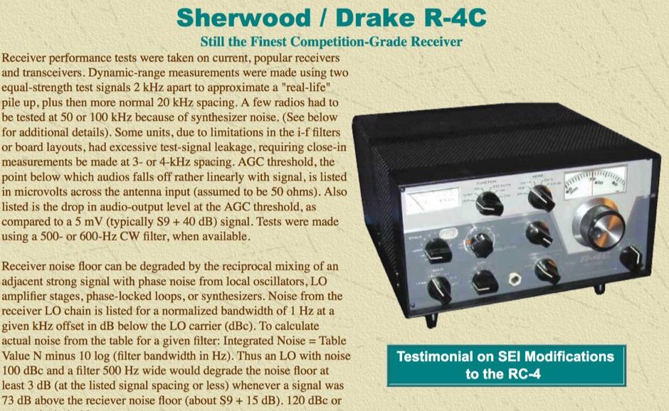 DXZone Sherwood / Drake R-4C