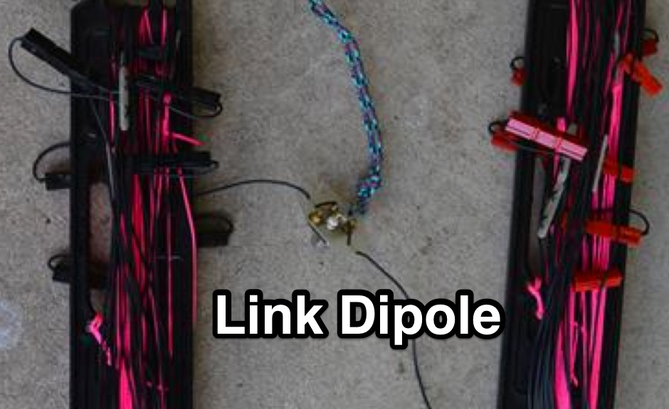 DXZone A Lightweight Link Dipole