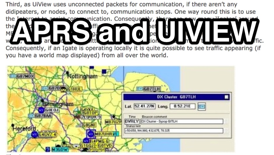 APRS and UiView