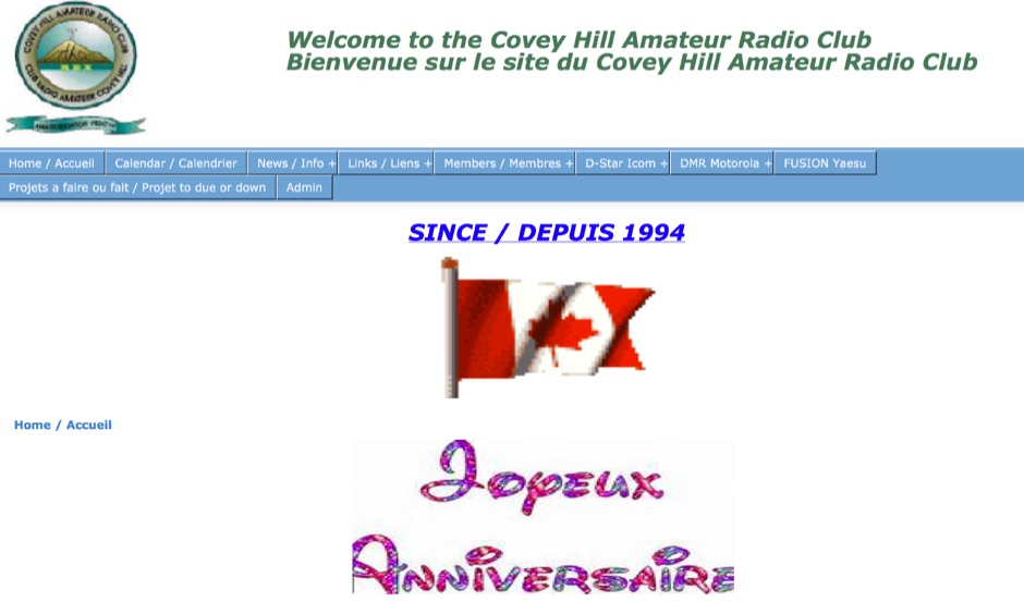 VE2CYH Covey Hill Amateur Radio Club
