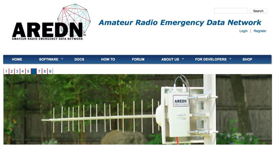 DXZone Amateur Radio Emergency Data Network