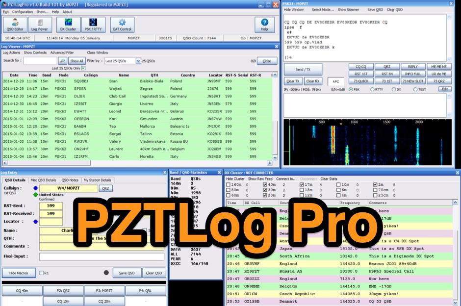 DXZone PZTLog Pro