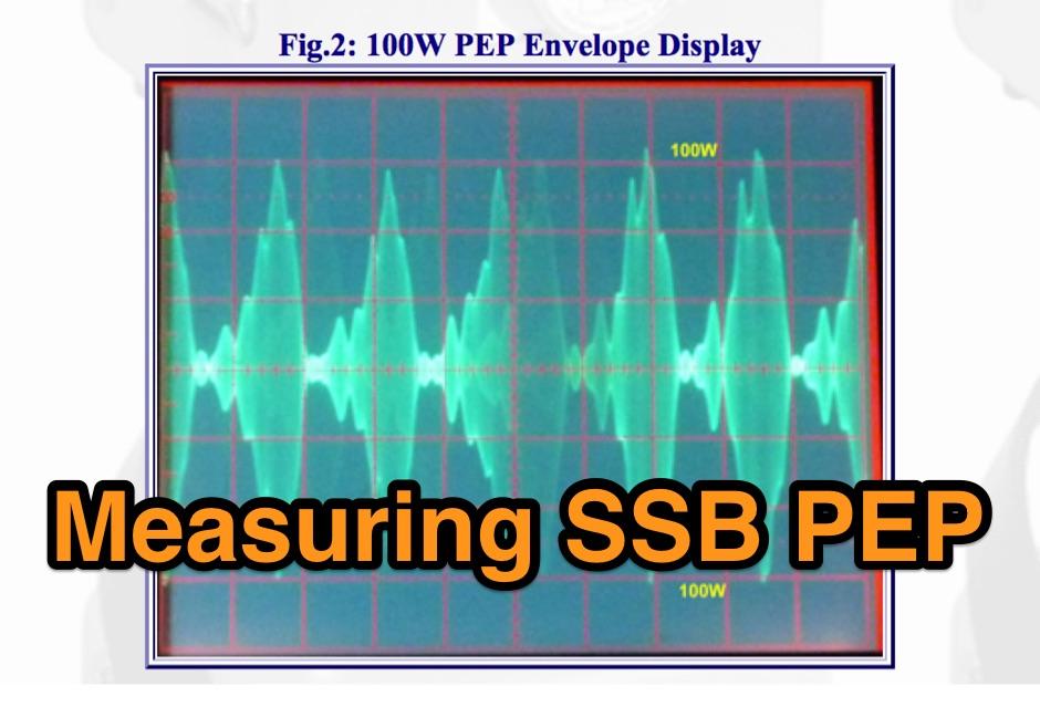 A Simple SSB PEP Measuring Procedure
