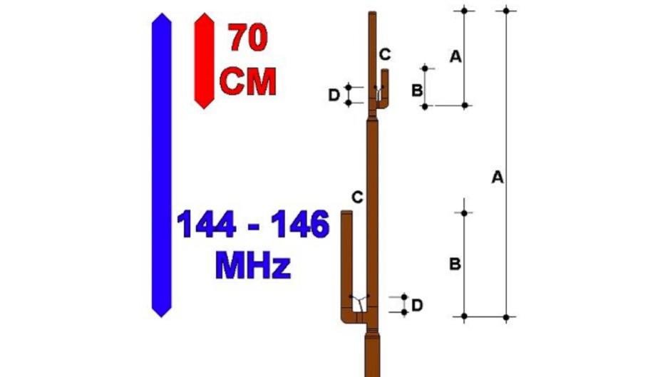 VHF UHF Jpole