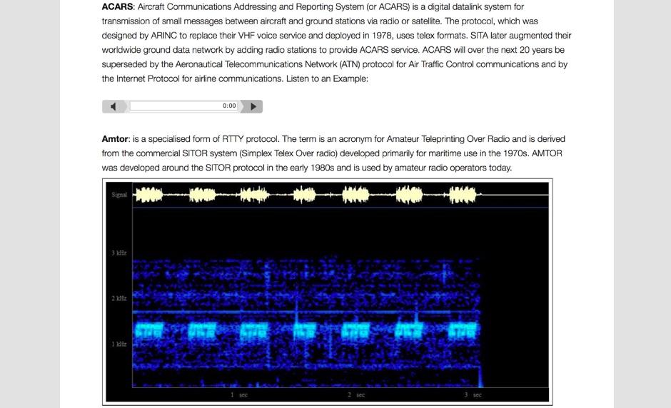 Radio Sound Examples