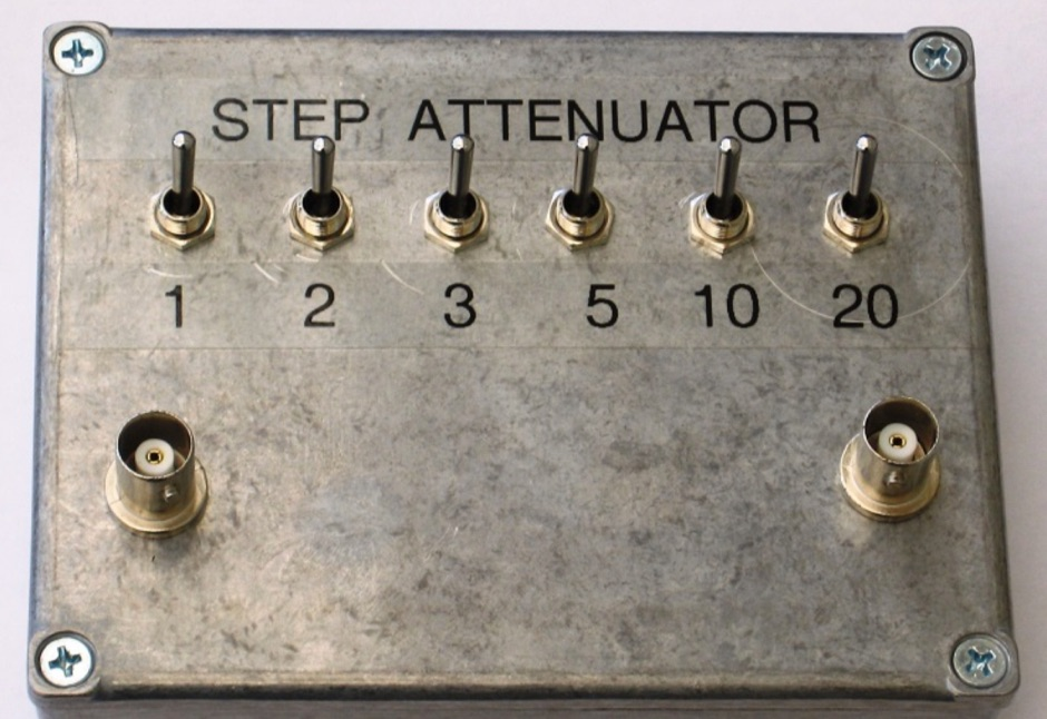 Step Attenuator suitable for 0 - 30MHz
