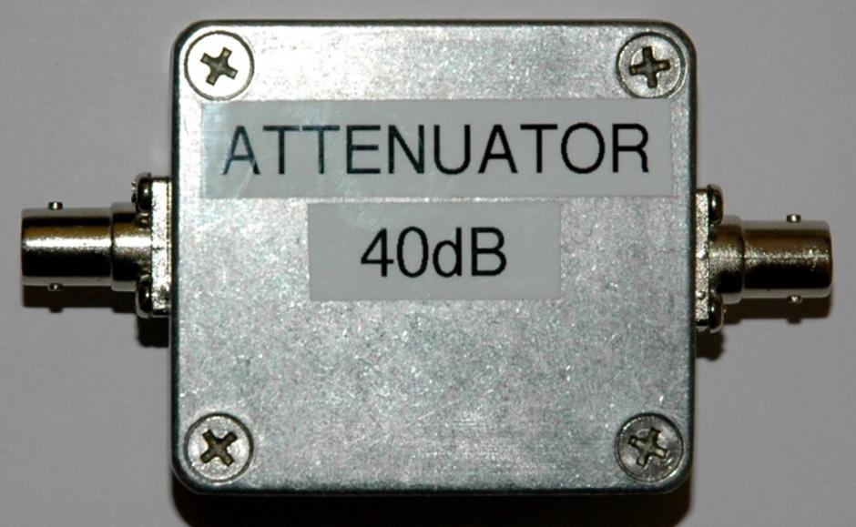 40dB standard attenuator