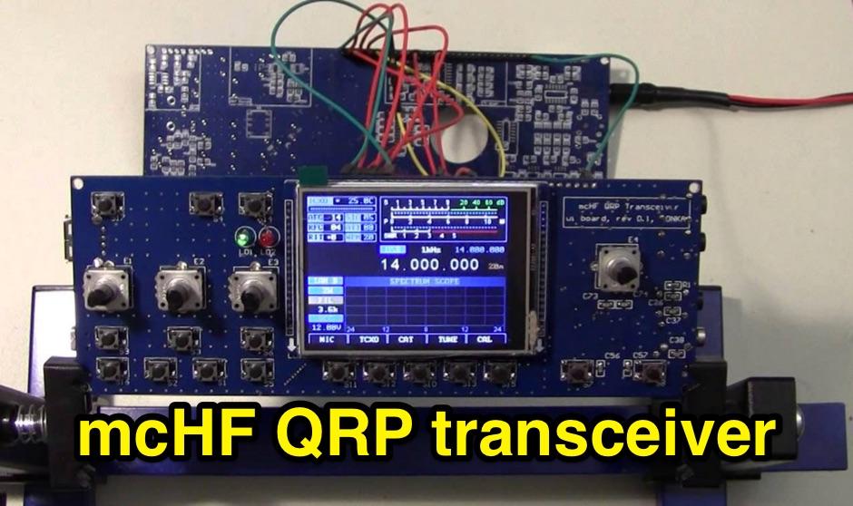 DXZone mcHF QRP transceiver