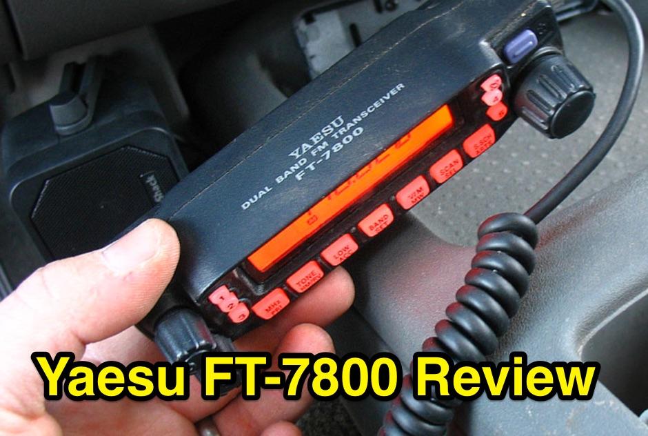 DXZone Yaesu FT-7800 Review