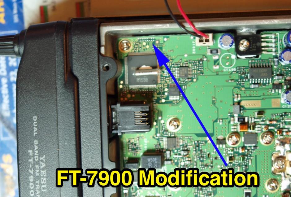 DXZone Yaesu FT-7800 7900 Mod