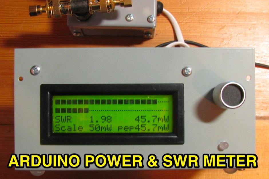 DXZone Arduino Power and SWR Meter