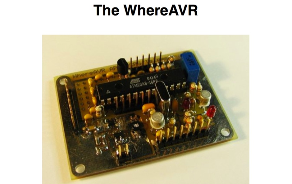 The WhereAVR