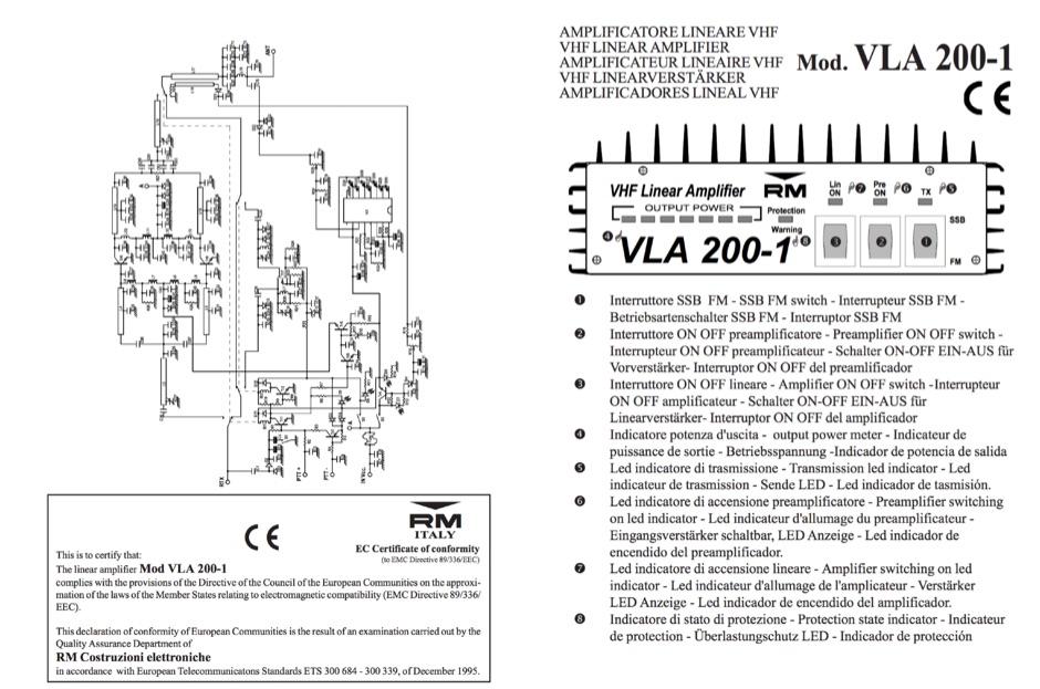 RM VLA 200 Manual